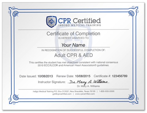 How to Get CPR Certified - How It Works